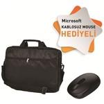 Classone Bnd100-m Microsoft 7mm Kablosuz Mouse + Classone Notebook Çantası