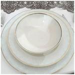Kütahya Porselen 92791 Bone Kalipso 62 Parça Yemek Takımı