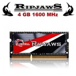 G.Skill Ripjaws 4GB Notebook Bellek (F3-1600C9S-4GRSL)