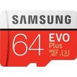 Samsung 64GB Evo Plus microSD Kart (MB-MC64GA-TR)