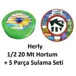 Herly Hsnf01 1/2 20 Mt Hortum + 5 Parca Sulama Seti