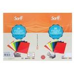 Sarff Cilt Kapağı Pvc 160 Micron Beyaz A3 100'lü Paket