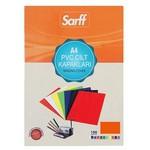 Sarff Cilt Kapağı Pvc 160 Micron A4 100 Adet Kırmızı