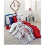 Clasy Alesta Tek Kisilik Multi Yatak Örtüsü Seti Kırmızı