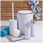 İhouse 3357 Akrilik 5 Parça Banyo Seti Beyaz
