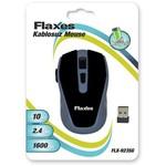 Flaxes Flx-923sg Flx-923sg Kablosuz 2,4 Ghz 1600 Dpı Siyah Gri Mouse