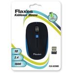 Flaxes Flx-925ms Flx-925ms Kablosuz 2,4 Ghz 1600 Dpı Siyah Mavi Mouse