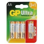 GP Ultra Alkalin Aa Pil 3+1 Adet
