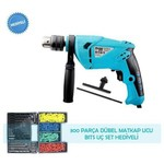 Blue Light 703-13 Professional Darbeli Matkap + 300 Parca 710 W