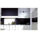 İhouse 10c12005 Sticker Yapıştırma Duvar Saati Siyah
