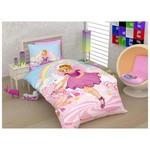 Örtüm Pink Girl Tek Kişilik Pembe Ranforce Uyku Seti