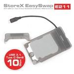 Dark DK-AC-DSE211 2.5'' HDD-SSD DESTEKLİ USB3.1 (TYPE-C) 10GBPS SEFFAF DİSK