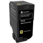 Lexmark Cs720 Cs725 Cx725 Yellow Standard Yield Return Programme Toner