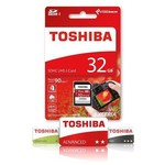 Toshiba 32 Gb Sdhc Uhs-1 C10 U3 Thn-n302r0320e4
