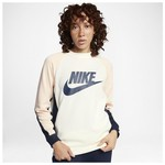 Nike 882903-133 W Nsw Crw Pk Cb Kadın Tişört 882903-133