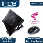 Inca Inc-341tss Notebook Soğutucu + Mouse Set Siyah