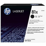HP CF281X 81X Yüksek Kapasiteli LaserJet Siyah Toner