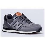 New Balance NB Unisex Lifestyle Shoes, GREY, D, 41.5 ML574GPB