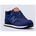 New Balance NB Unisex Lifestyle Shoes, NAVY, D, 41.5 ML574GPF