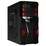 Redrock A801BR 300w Gaming Kasa - Siyah/Kırmızı