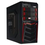 Redrock T810BR 300w Gaming Kasa - Siyah/Kırmızı