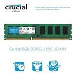 Crucial (CT102464BD160B) 8GB DDR3L-1600 Masaüstü Bellek 1.35v