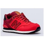 New Balance NB Unisex Lifestyle Shoes, RED, D, 41.5 ML574GPE