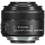 Canon EF-S 35mm f-2.8 Macro IS STM SLR Macro lens Siyah
