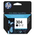 HP N9k06ae (304) Siyah Mürekkep Kartuşu 120 Sayfa