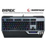 Everest Rampage KB-RX92 Commander USB Q Klavye