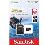 Sandisk 128g Extreme Micro Sdhc Sdsqxaf-128g-gn6aa