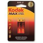 Kodak K3A-2-30952874 Max Serisi 2 adet AAA Alkalin ince 0