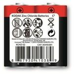 Kodak KCHZ-S2-30410381 2 Adet Normal Ambalaj Çinko Karbon Orta 0