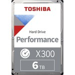 Toshiba 6TB X300 High-Performance Hard Disk (HDWE160UZSVA)