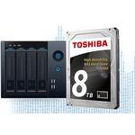 Toshiba N300 8TB NAS Hard Disk (HDWN180UZSVA)