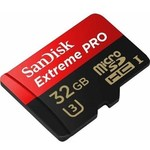 Sandisk 32GB Extreme Pro MicroSD (SDSQXCG-032G) - Outlet