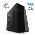 Nagas C175C 500w 80+Bronze Mid-Tower Kasa