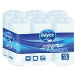 Mavi Beyaz Tuvalet Kağıdı Pro Expert 180 Yaprak 12 Adet