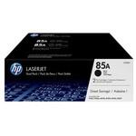 HP 85A LaserJet Toner (CE285AF) - Siyah - İkili Paket