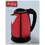 King K-569R Lena Kırmızı Çelik Kettle