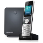 Yealink W60P DECT CORDLESS HANDSET + BASE UNIT(G.722) 8 SIMULTANEOUS EXT CALLS EXP 8