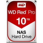 "WD 10TB 3.5"" 7200 256MB Red Pro Nas 101KFBX"