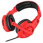 Trust 22399 GXT 310-SG Spectra Oyuncu Kulaklığı-Kırmızı