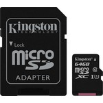 Kingston Canvas Select 64GB microSD Kart (SDCS-64GB)