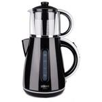 Stilevs Çays CM-16 Siyah-Gri Çay Makinesi