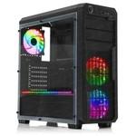 Dark DKCHSENTINELRGB SENTINEL POWERSIZ PENCERELİ 3X12CM 18X RGB LED FAN ATX OYUNCU KASA