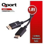 Q-Port Q-DP01 1.8m Display Port Kablo