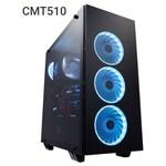 FSP CMT510 ATX Mid Tower Kasa Siyah