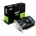 MSI VGA GeForce GT 1030 AERO ITX 2GD4 OC GT1030 2GB DDR4 64b DX12 PCIE 3.0 x16