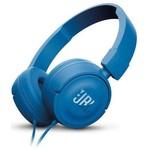 JBL T450 Kafa Bantlı Mikrofonlu Kulaklık - Mavi (JBLT450BLU)